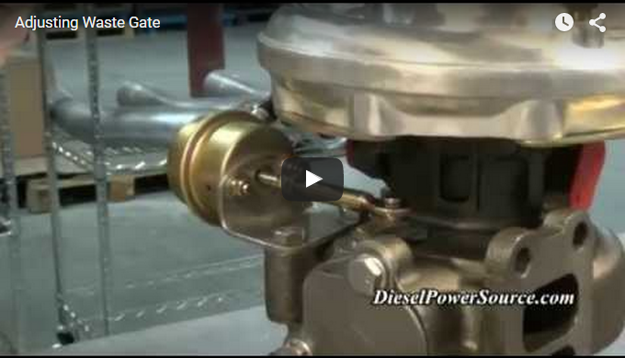 Picture of Adjusting Wastegate