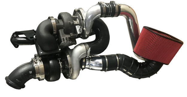 DPS Compound Turbo for Ford Super duty Cummins swap | Ford 6.0 Cummins conversions & 6.4