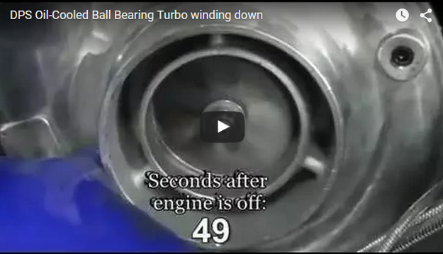 DPS ball bearing turbo