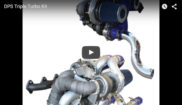 Picture of DPS Triple Turbo Kit