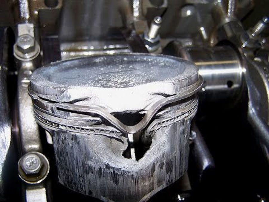 Melted a Piston Lately?