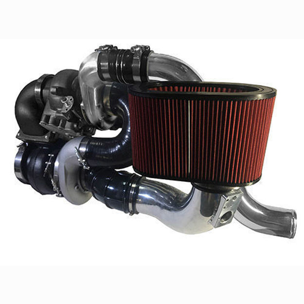 DPS 6.7 CUMMINS COMPOUND TURBO KIT 2010 - 2012 (S475)