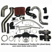 DPS STOCKER TWIN COMPOUND TURBO KIT FOR 1ST & 2ND GEN DODGE CUMMINS 5.9