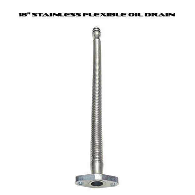 "DPS 19"" Turbo Oil Drain Tube"